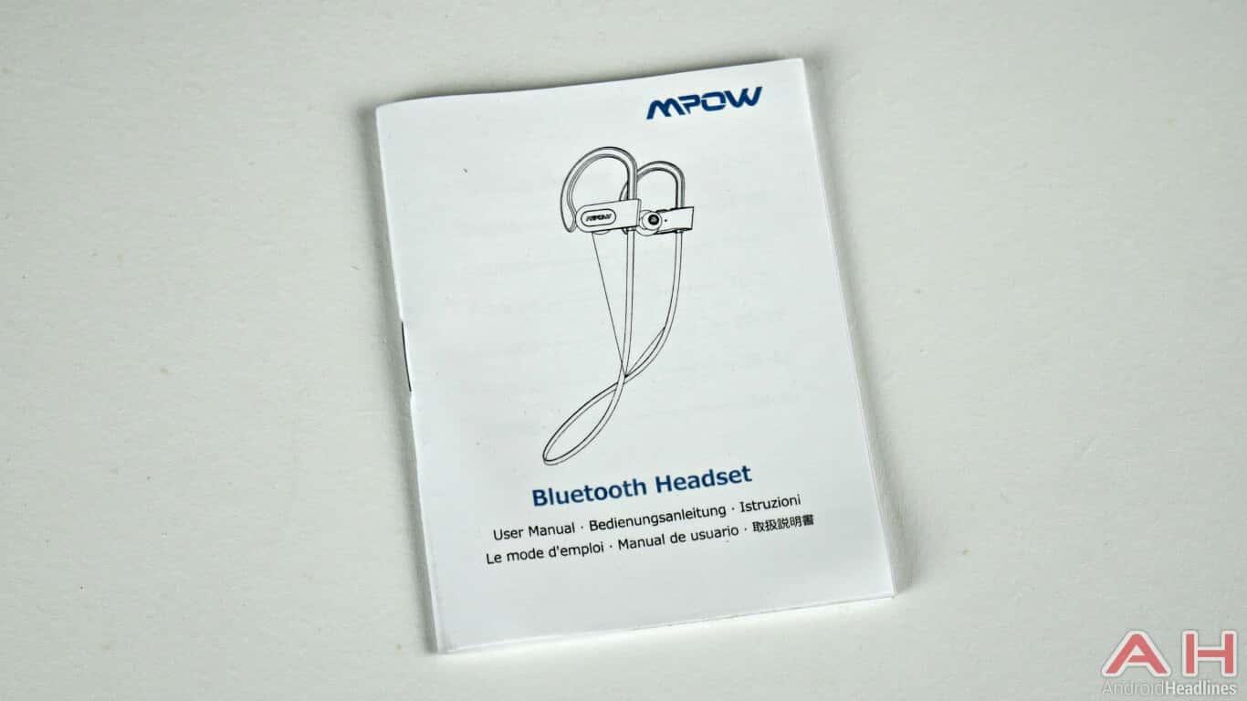 Mpow Bluetooth Headphones Box 03 AH