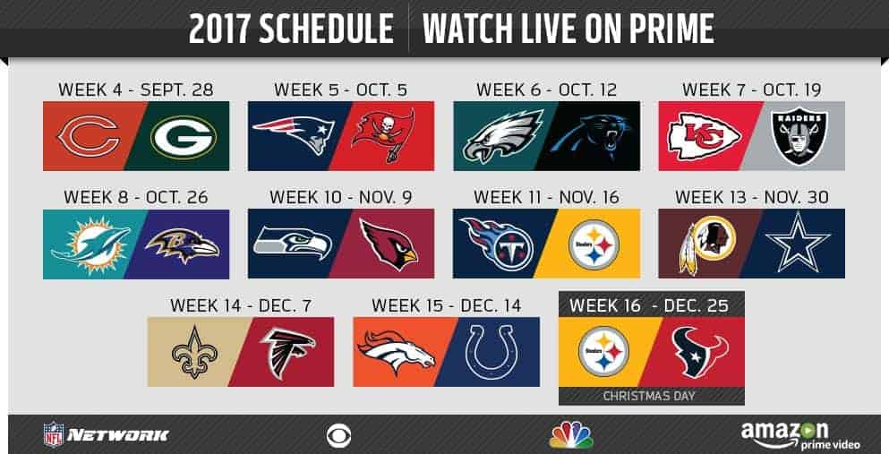 get a free trial of amazon prime - Nfl Schedule Christmas Day
