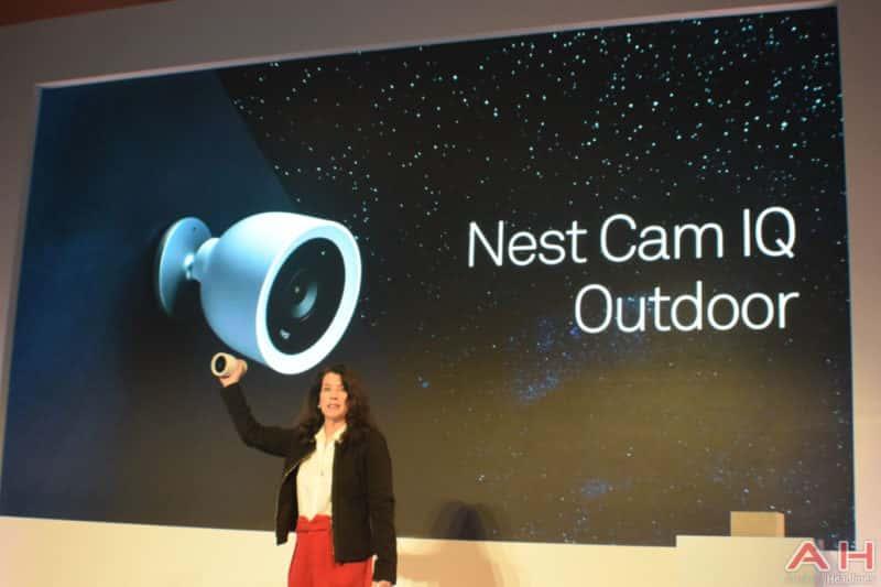 nest outs cam iq outdoor indoor one gets google assistant. Black Bedroom Furniture Sets. Home Design Ideas