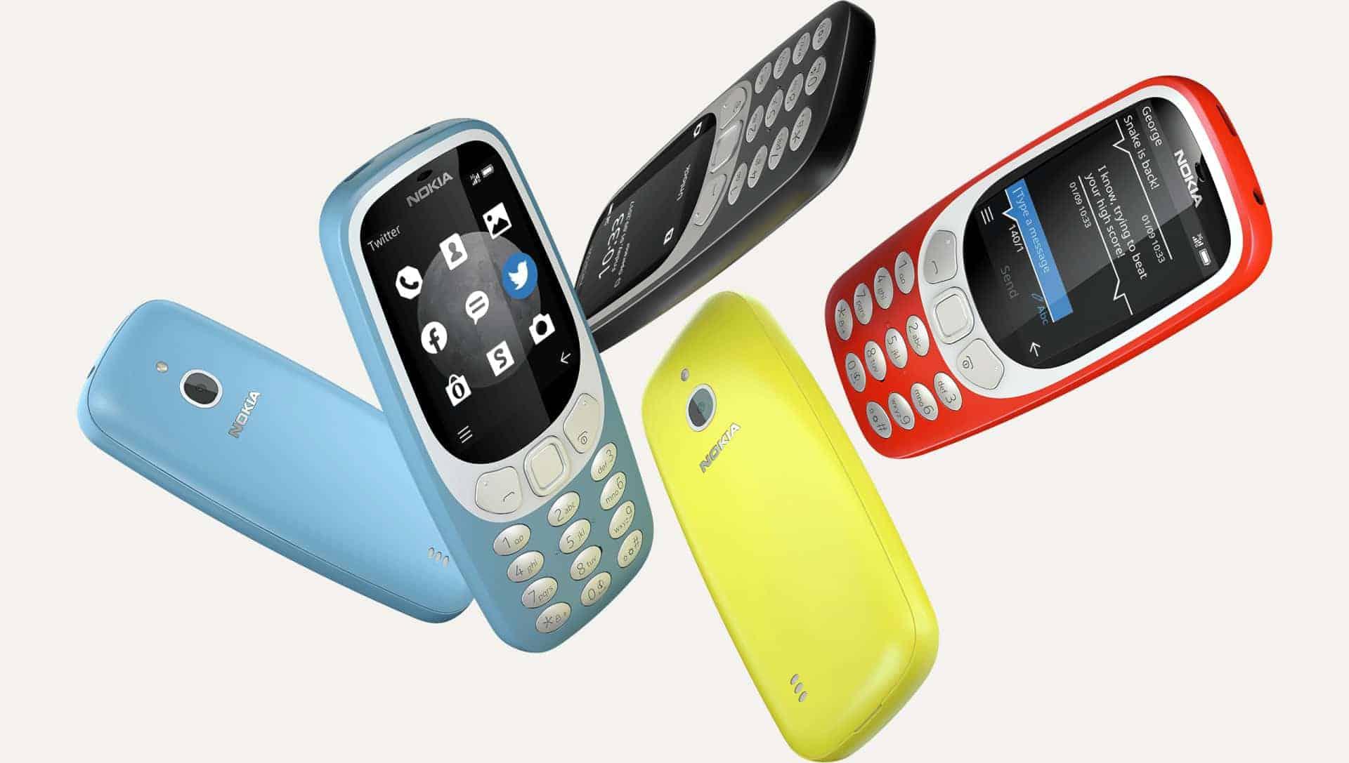 Nokia 3310 2017 3G connectivity 1