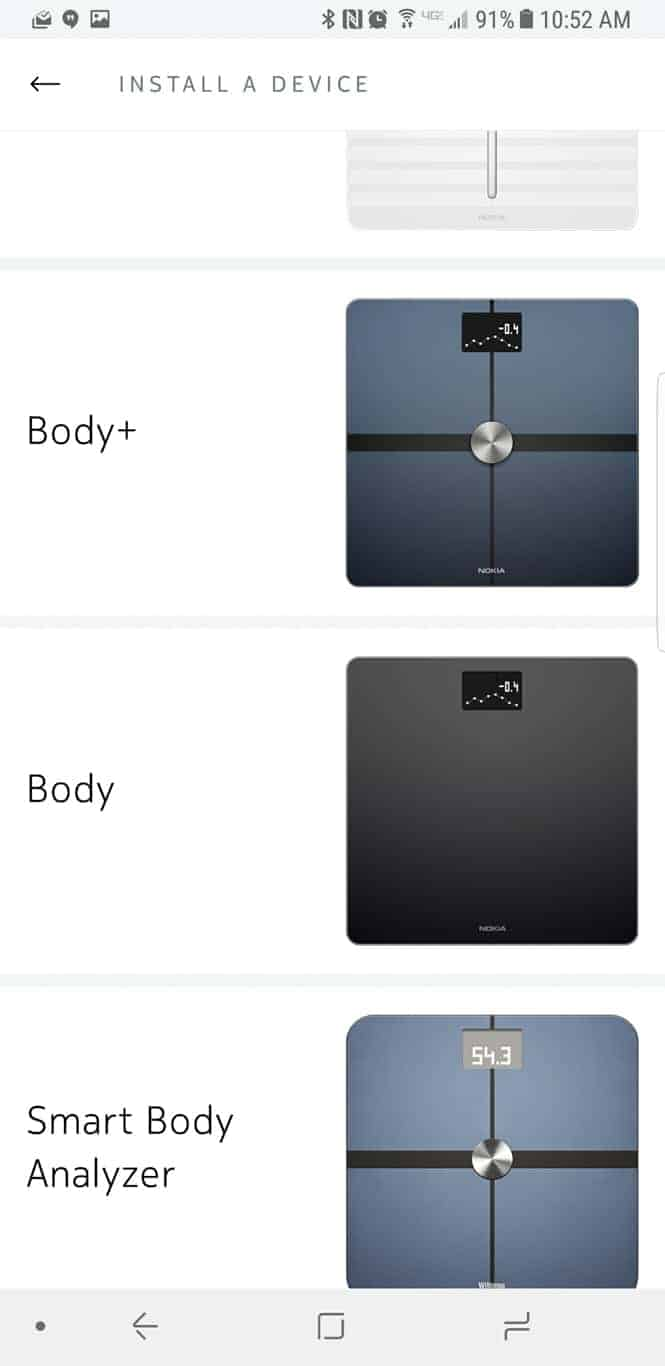 The App Which Then Syncs To Nokia Health Mate So If Youre Serious About Getting In Shape Or Staying This Is A Great All Round Have