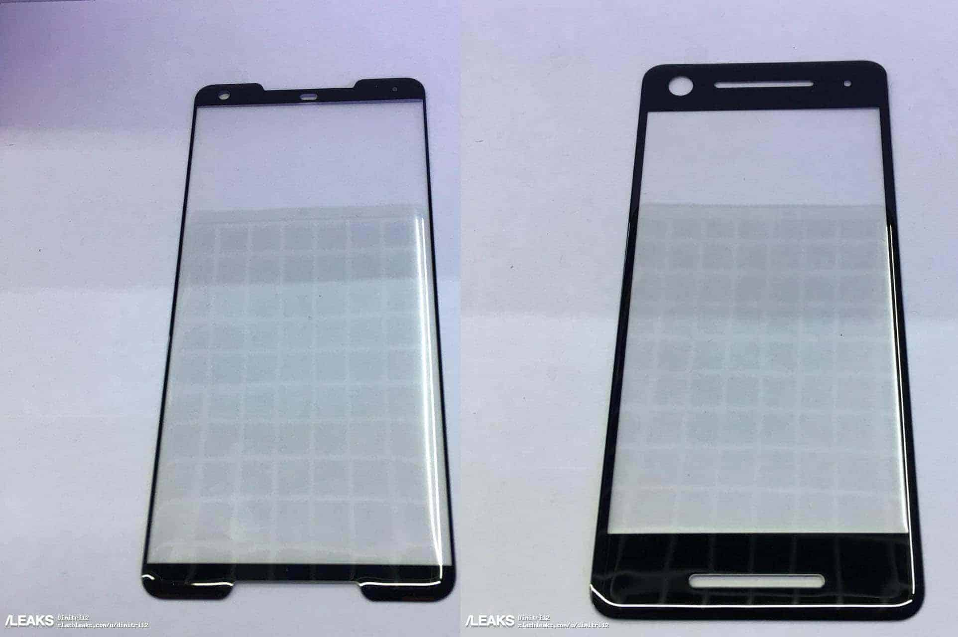 Pixel 2 and Pixel XL 2 Screen Protector SlashLeaks Joined
