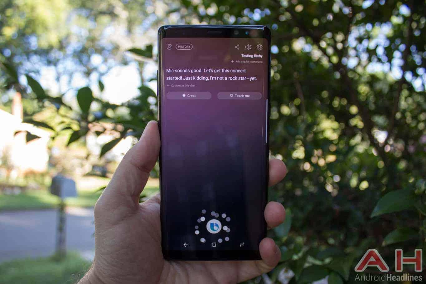 Samsung Galaxy Note 8 AH NS 24 bixby