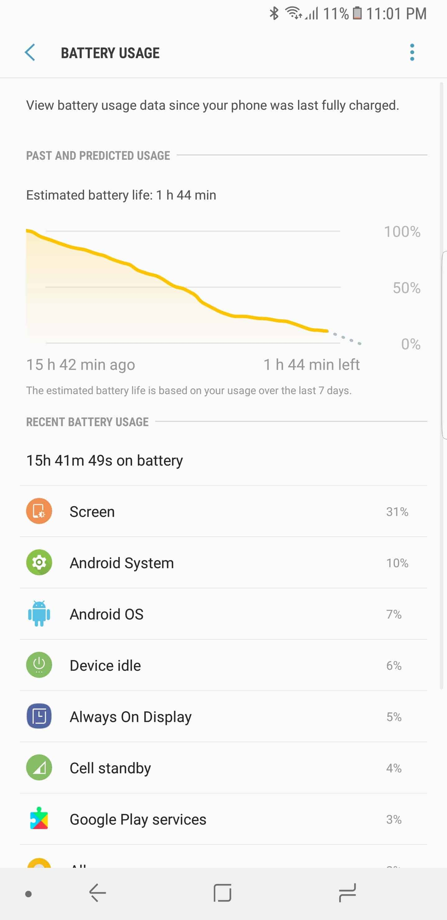 Samsung Galaxy Note 8 AH NS Screenshots battery 1