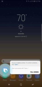 Samsung Galaxy Note 8 AH NS Screenshots bixby 3