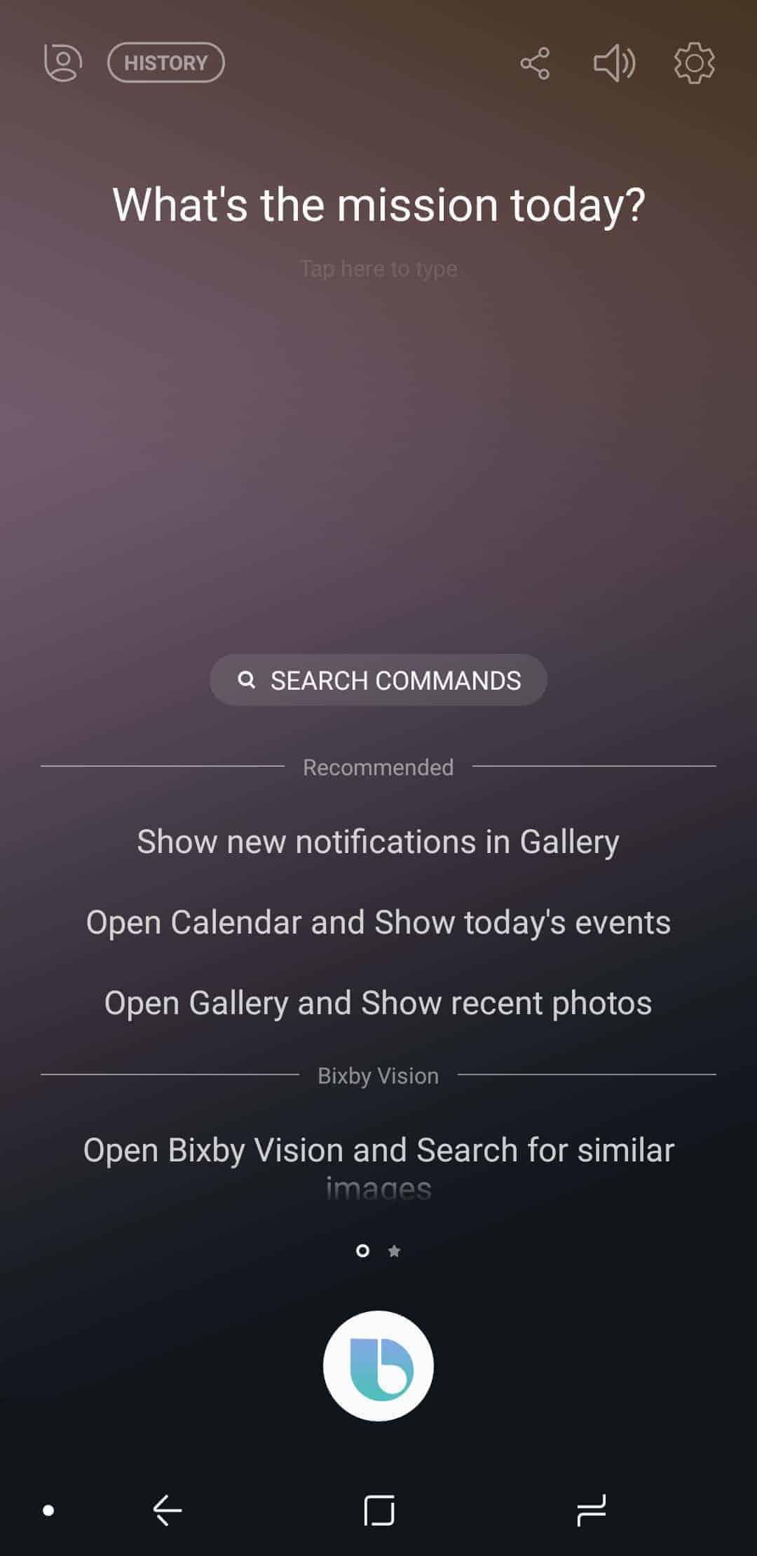 Samsung Galaxy Note 8 AH NS Screenshots bixby 4