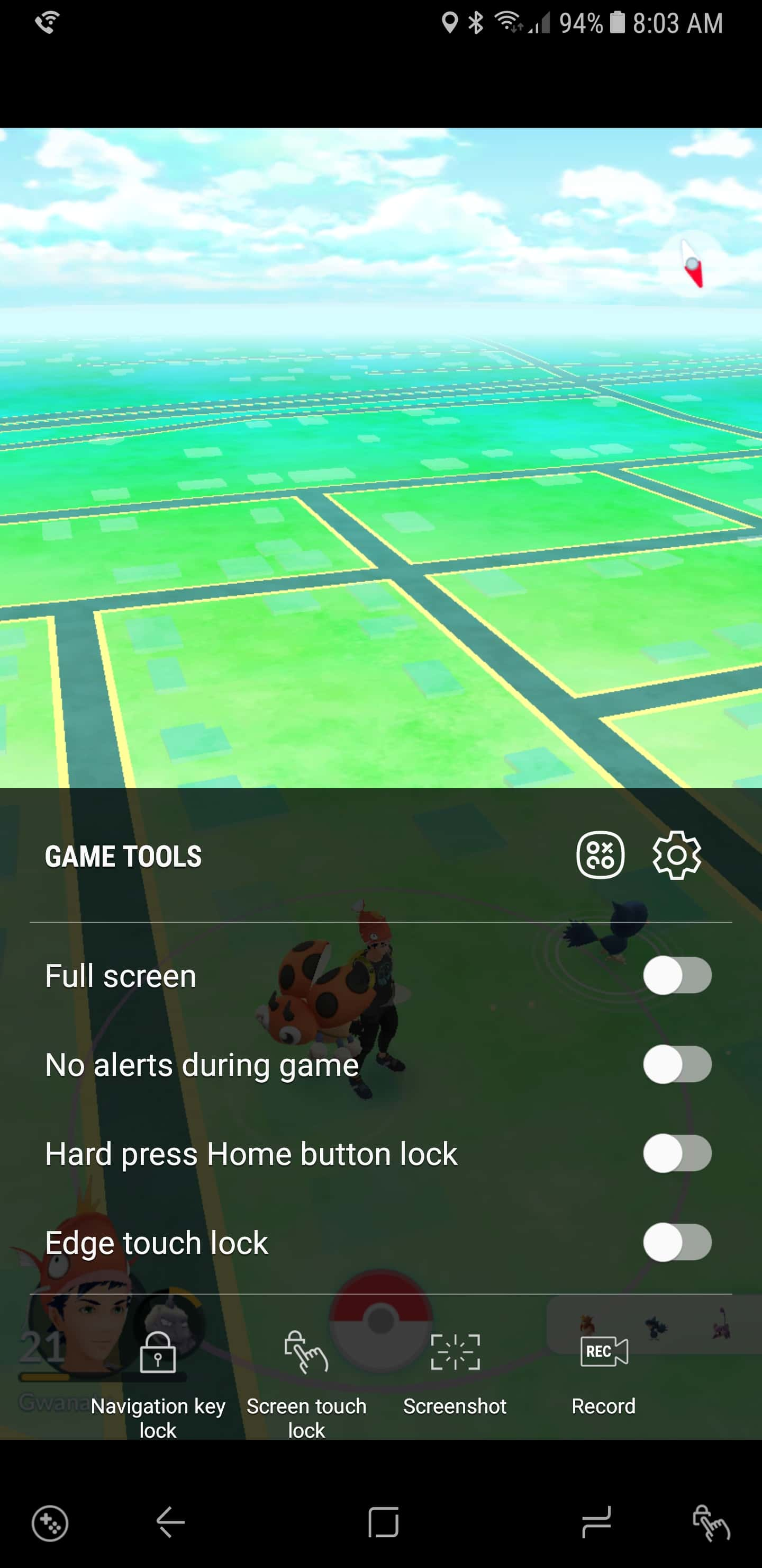 Samsung Galaxy Note 8 AH NS Screenshots game tools