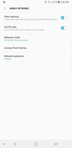 Samsung Galaxy Note 8 AH NS Screenshots mobile 1