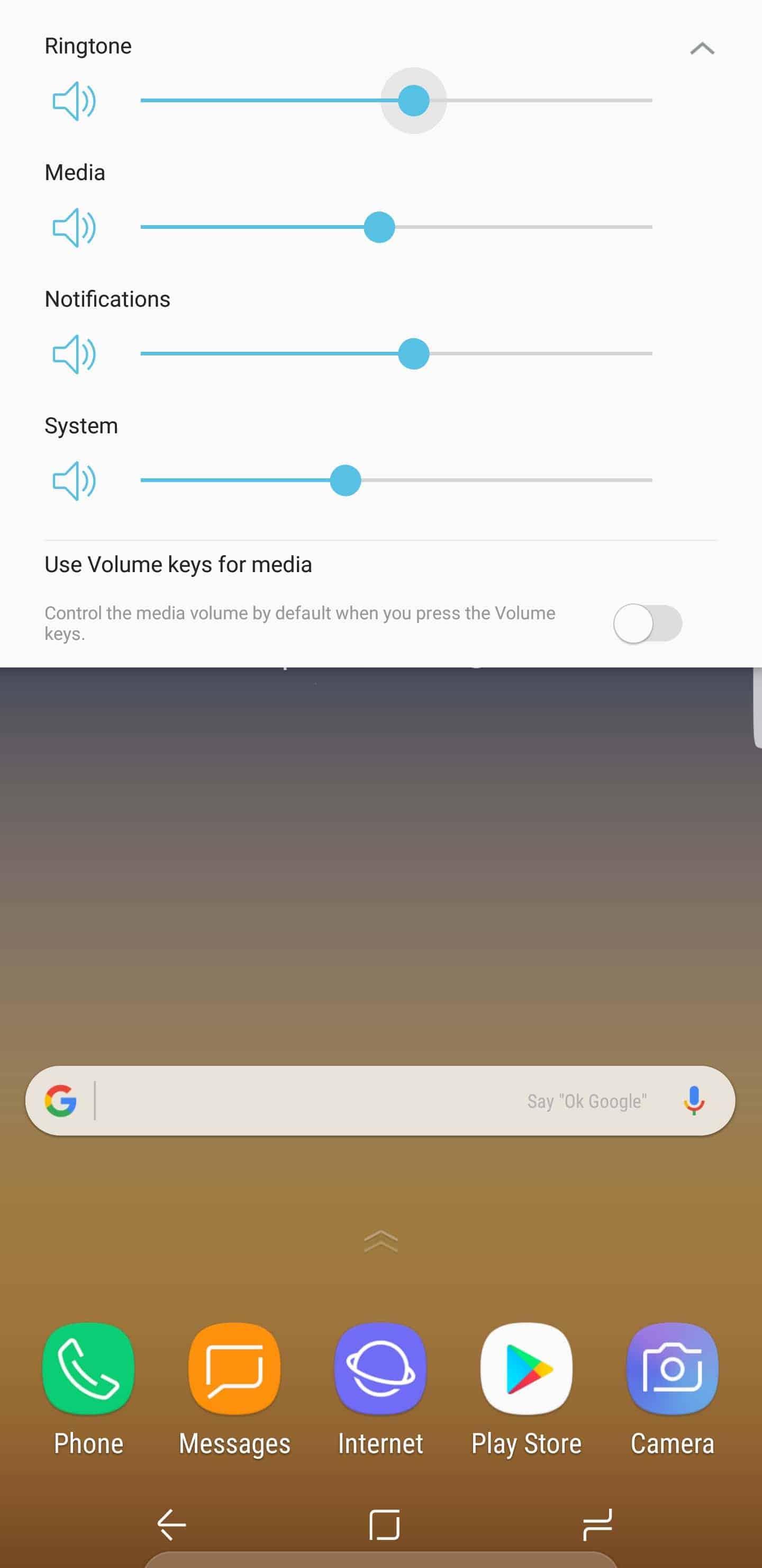 Samsung Galaxy Note 8 AH NS Screenshots volume keys