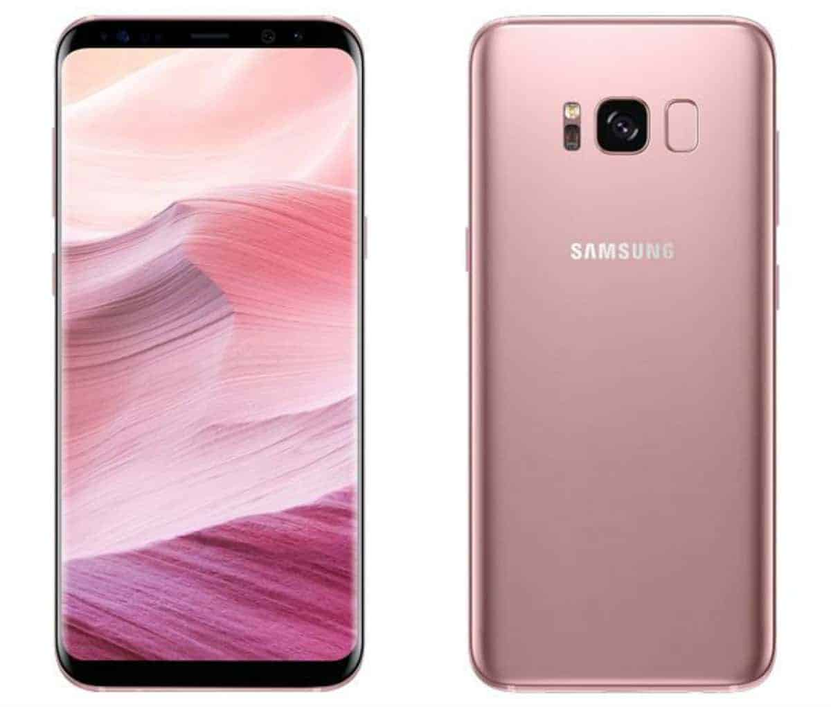 samsung s8 plus phone case pink