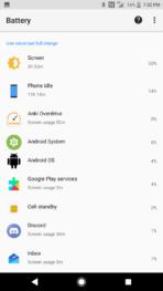 Sony Xperia XZ1 AH NS Screenshots battery 1