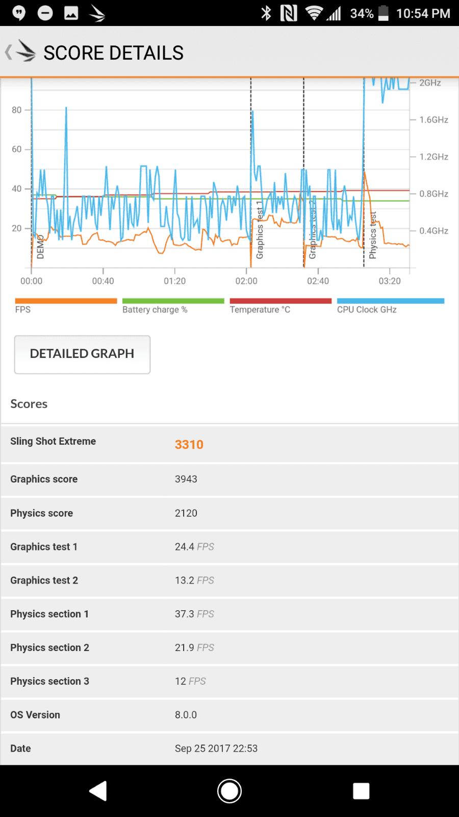 Sony Xperia XZ1 AH NS Screenshots benchmarks 04