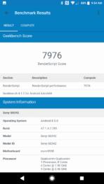 Sony Xperia XZ1 AH NS Screenshots benchmarks 06