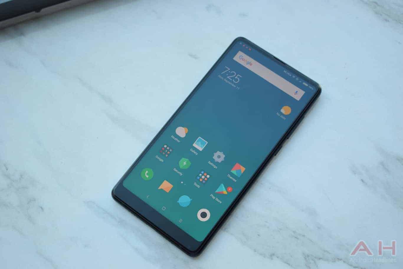 Xiaomi Mi MIX 2 Hands On AM AH 1
