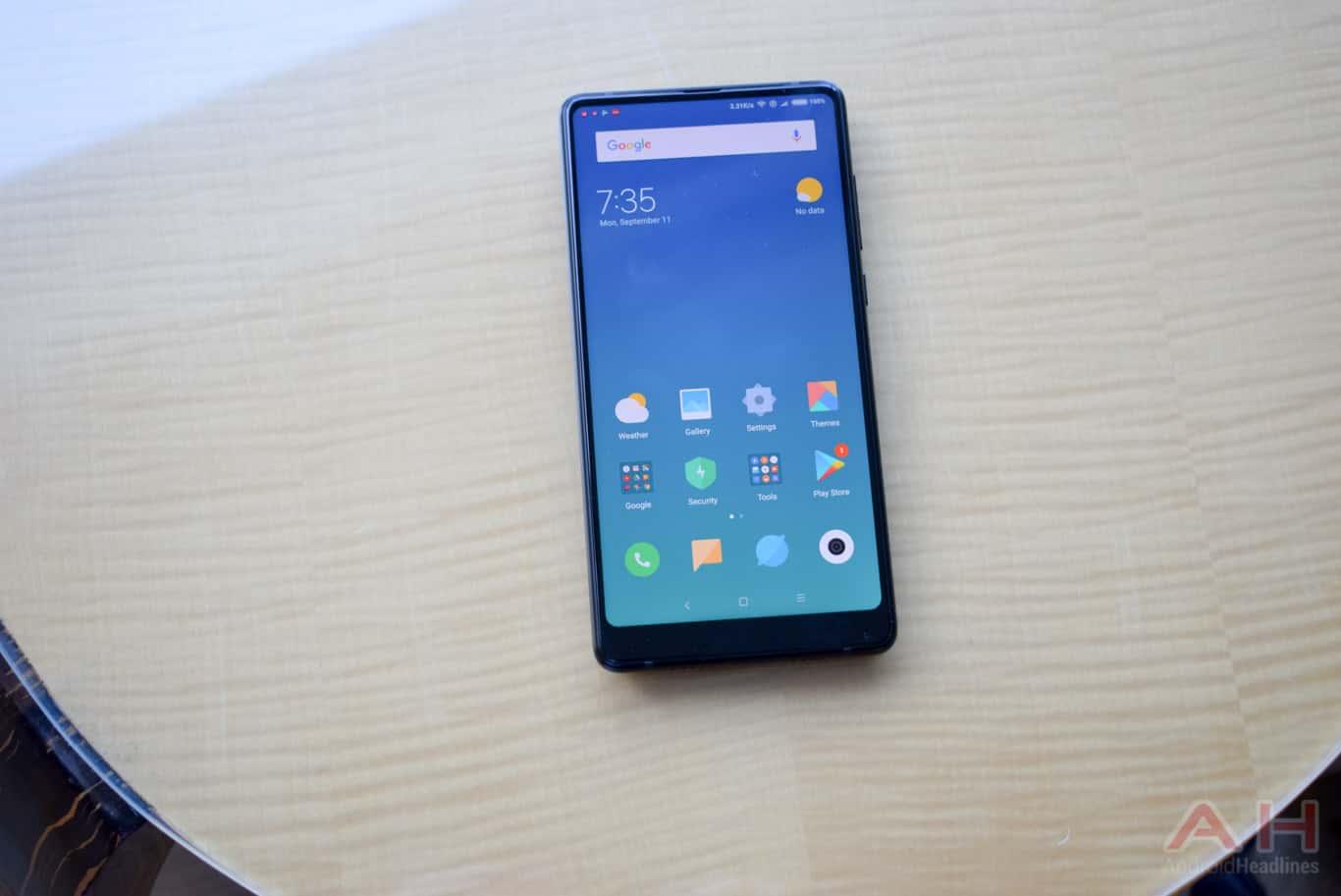 Xiaomi Mi MIX 2 Hands On AM AH 11
