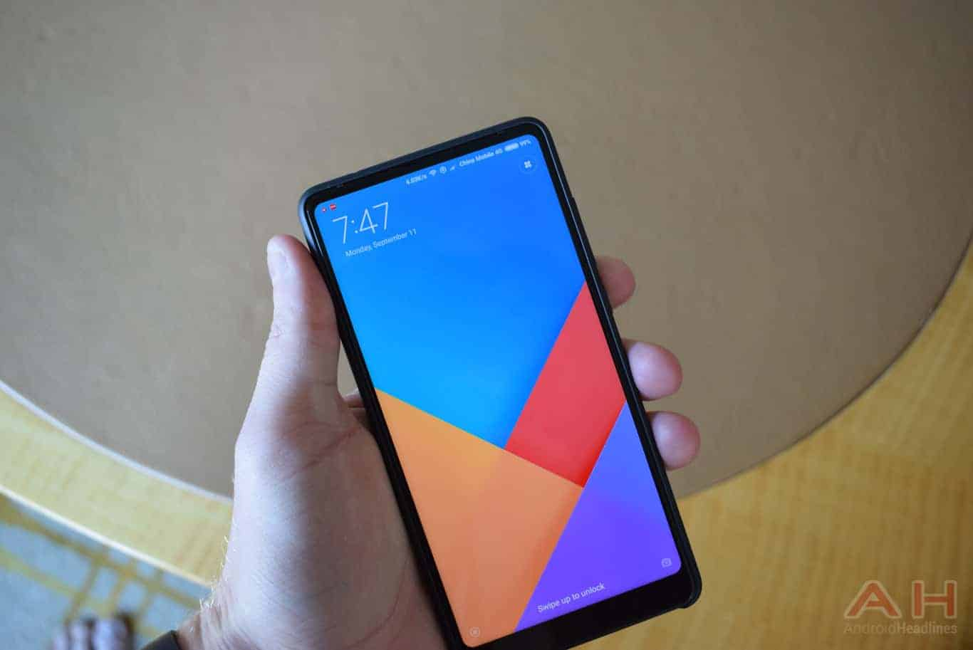 Xiaomi Mi MIX 2 Hands On AM AH 14