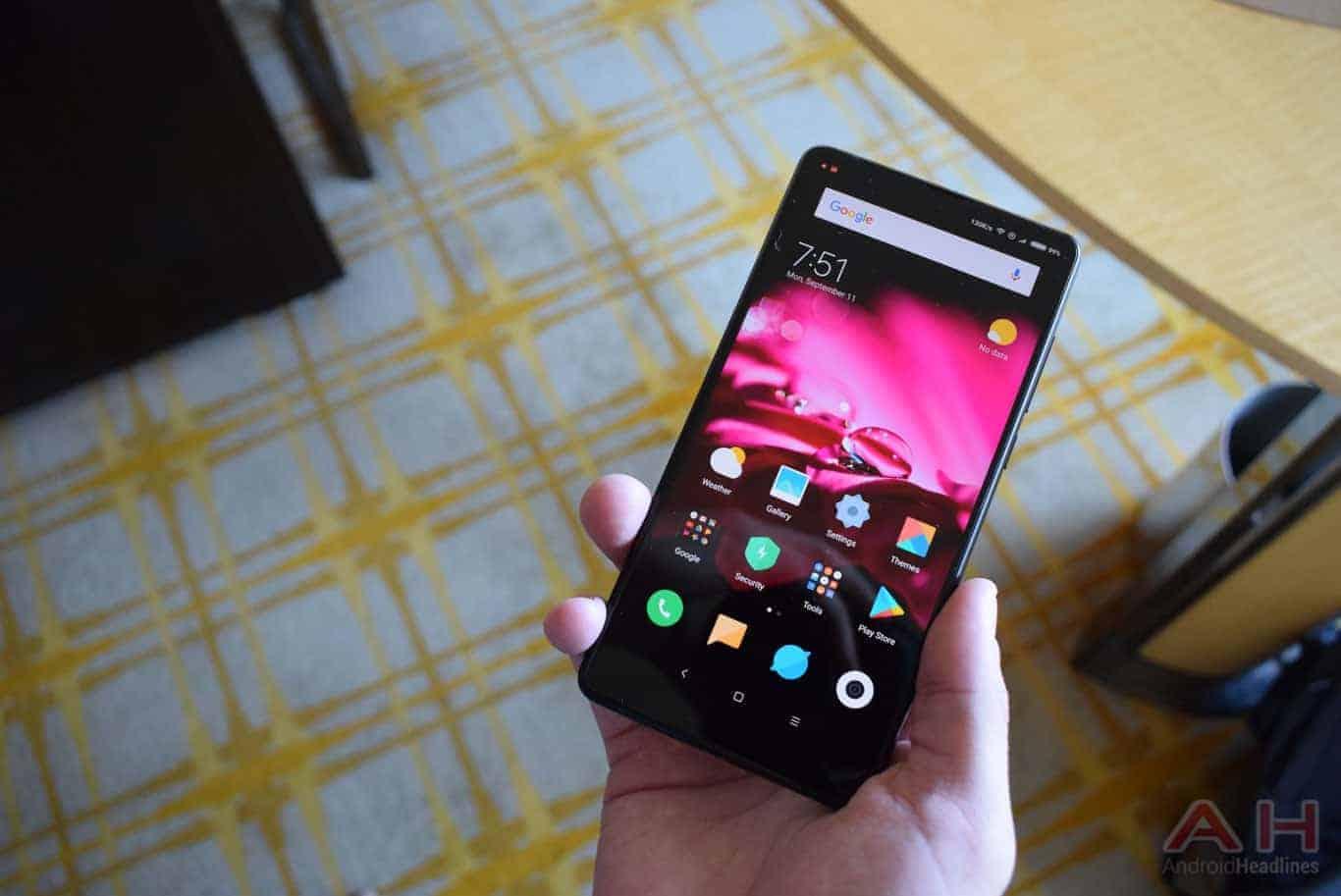 Xiaomi Mi MIX 2 Hands On AM AH 16