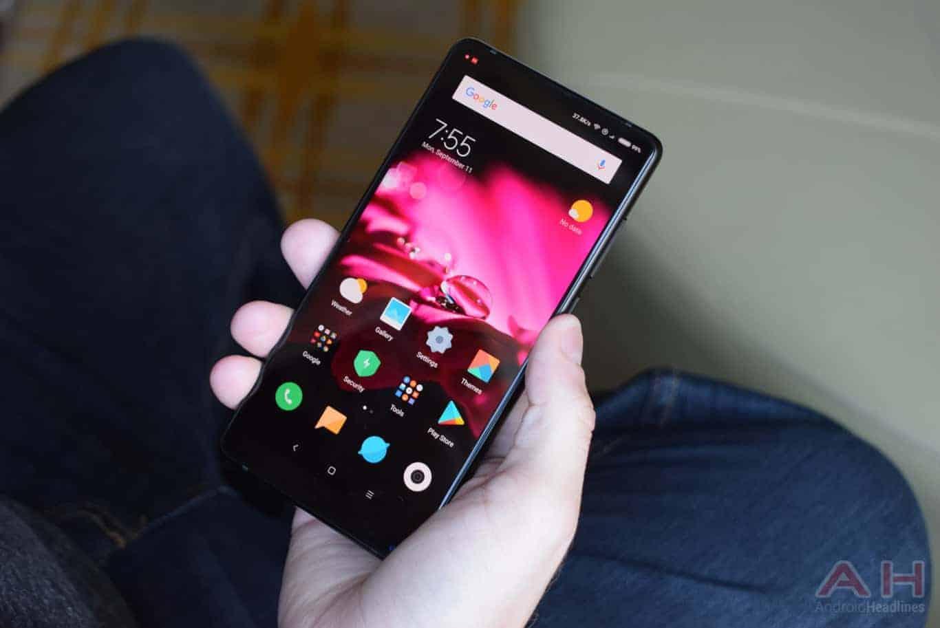 Xiaomi Mi MIX 2 Hands On AM AH 19
