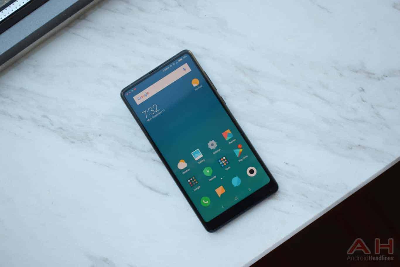 Xiaomi Mi MIX 2 Hands On AM AH 7