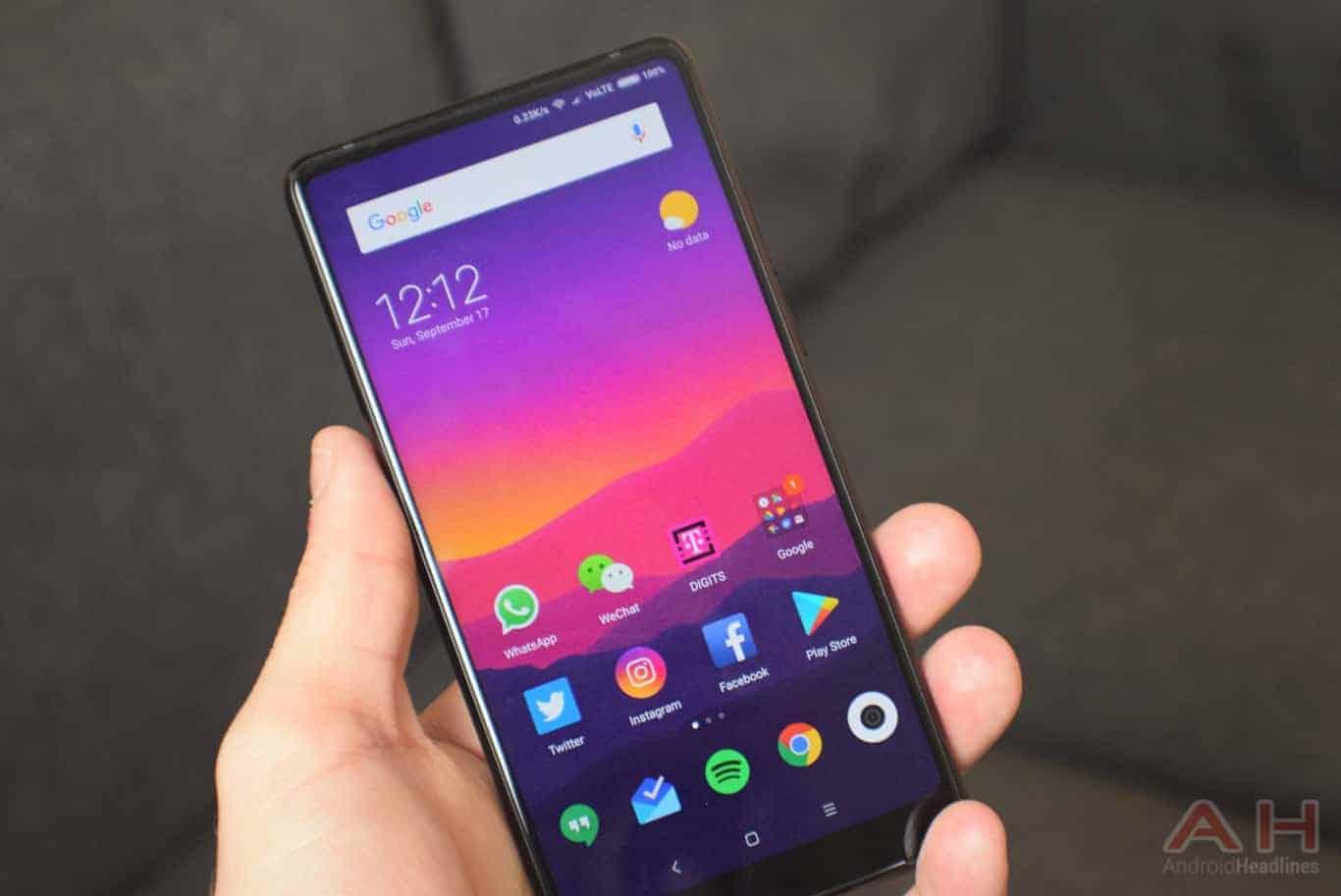 Xiaomi Mi MIX 2 Review AH 16