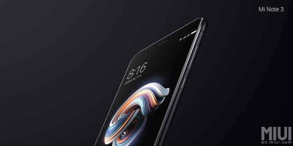 Xiaomi Mi Note 3 1