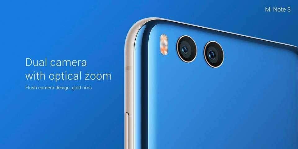 Xiaomi Mi Note 3 4