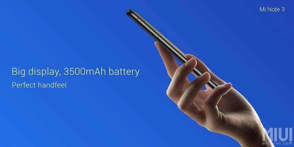 Xiaomi Mi Note 3 8