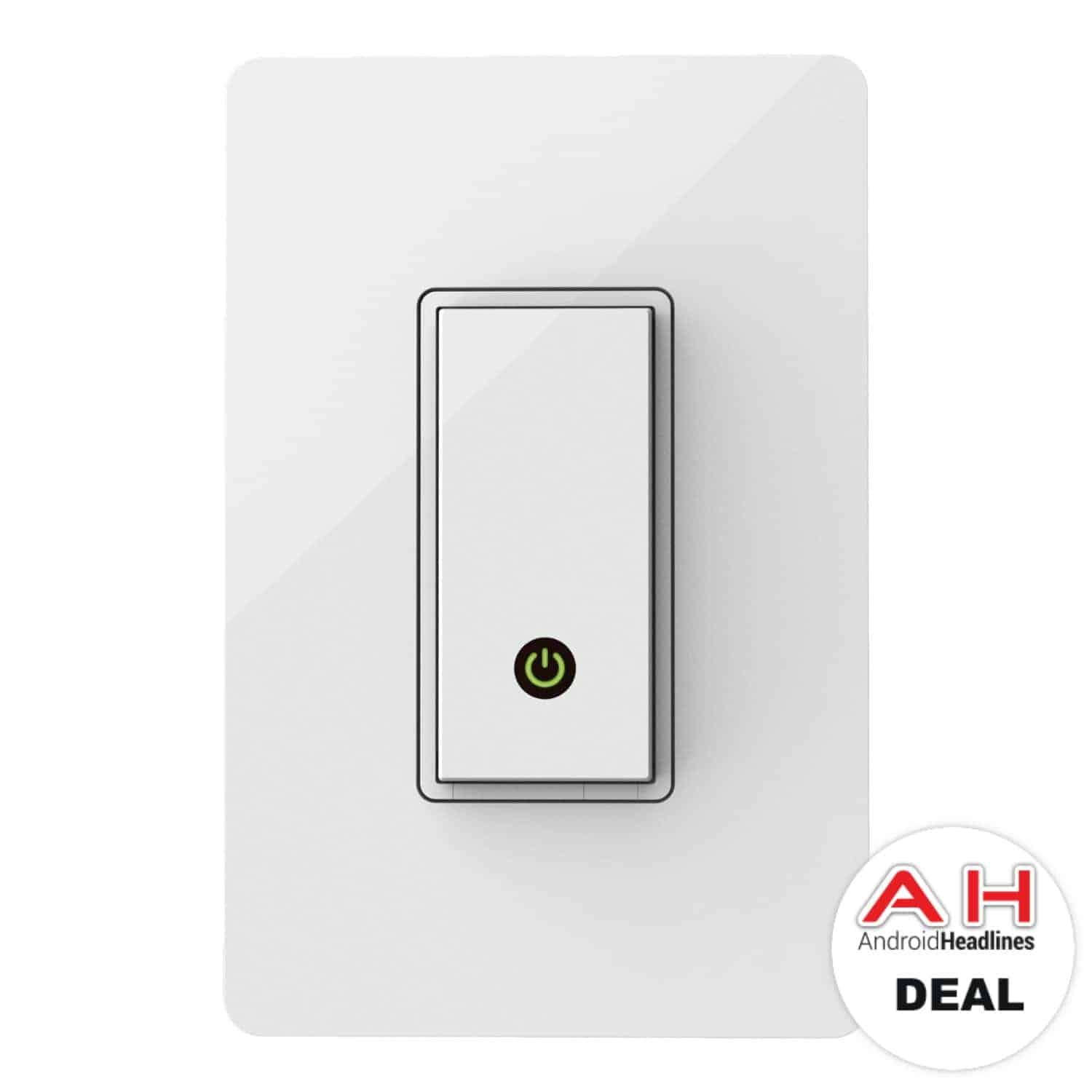 Deal: Belkin Wemo Light Switch (Works with Alexa) for $39.49 - 9/19 ...