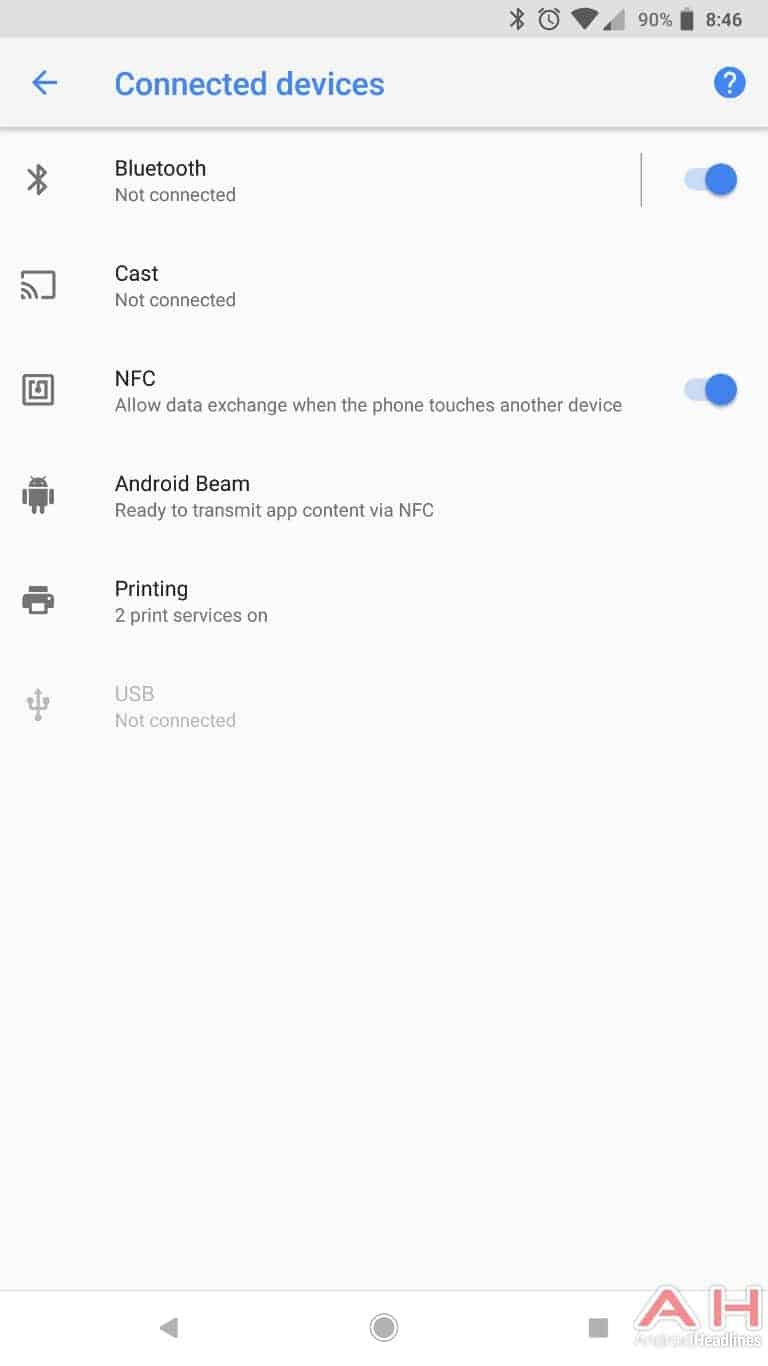 AH Android 8.1 Oreo UI screenshots 8