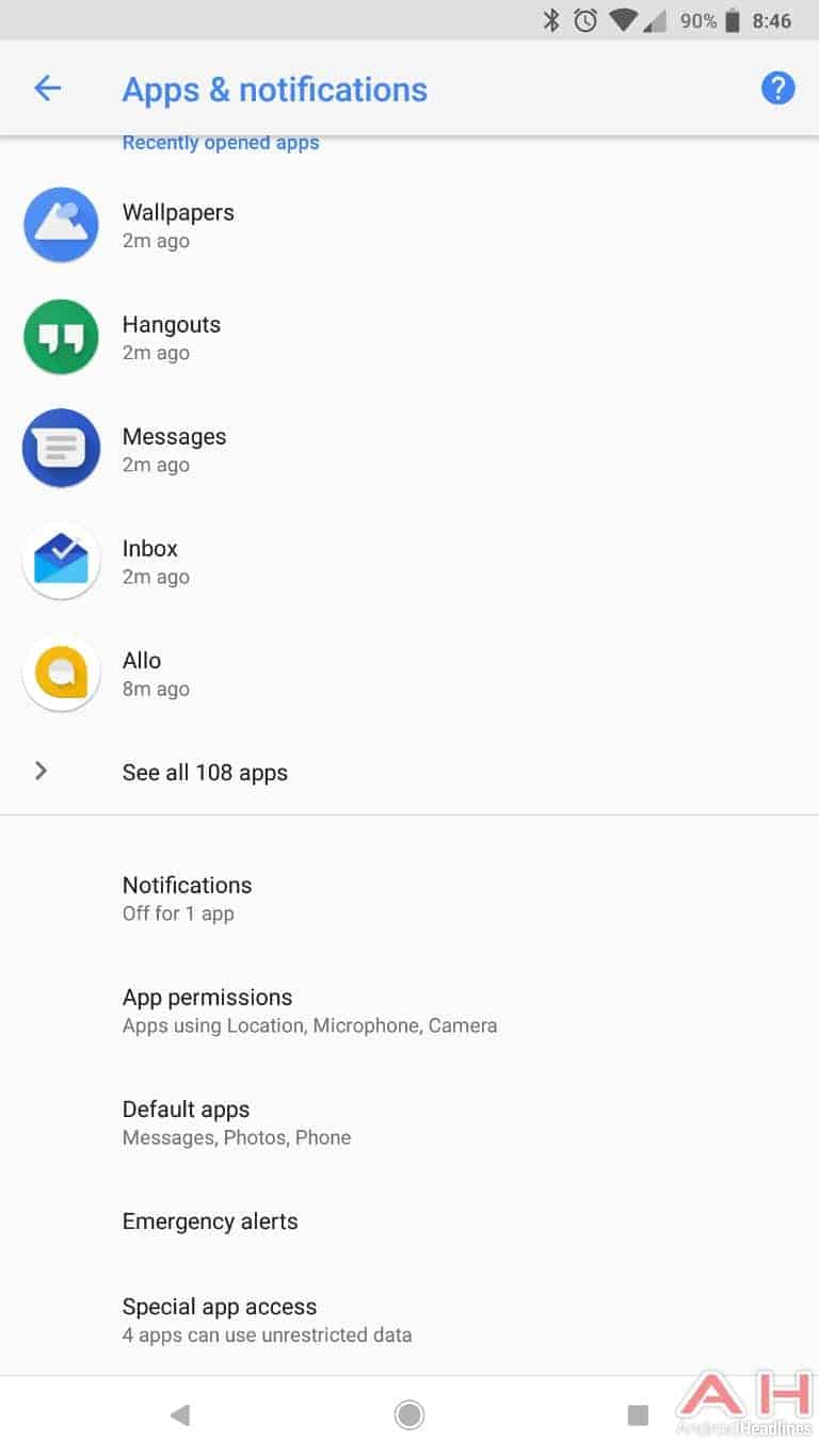AH Android 8.1 Oreo UI screenshots 9