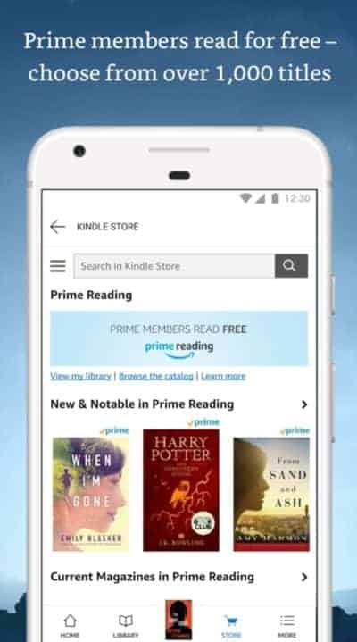 how to add books to kindle app android