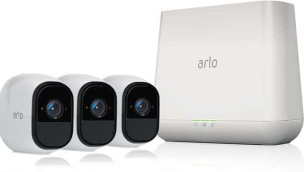 NETGEAR Arlo 3-Pack of Security Cameras