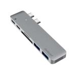 Dodocool Aluminum Alloy Dual USB C Hub Multiport Adapter with Thunderbolt 1
