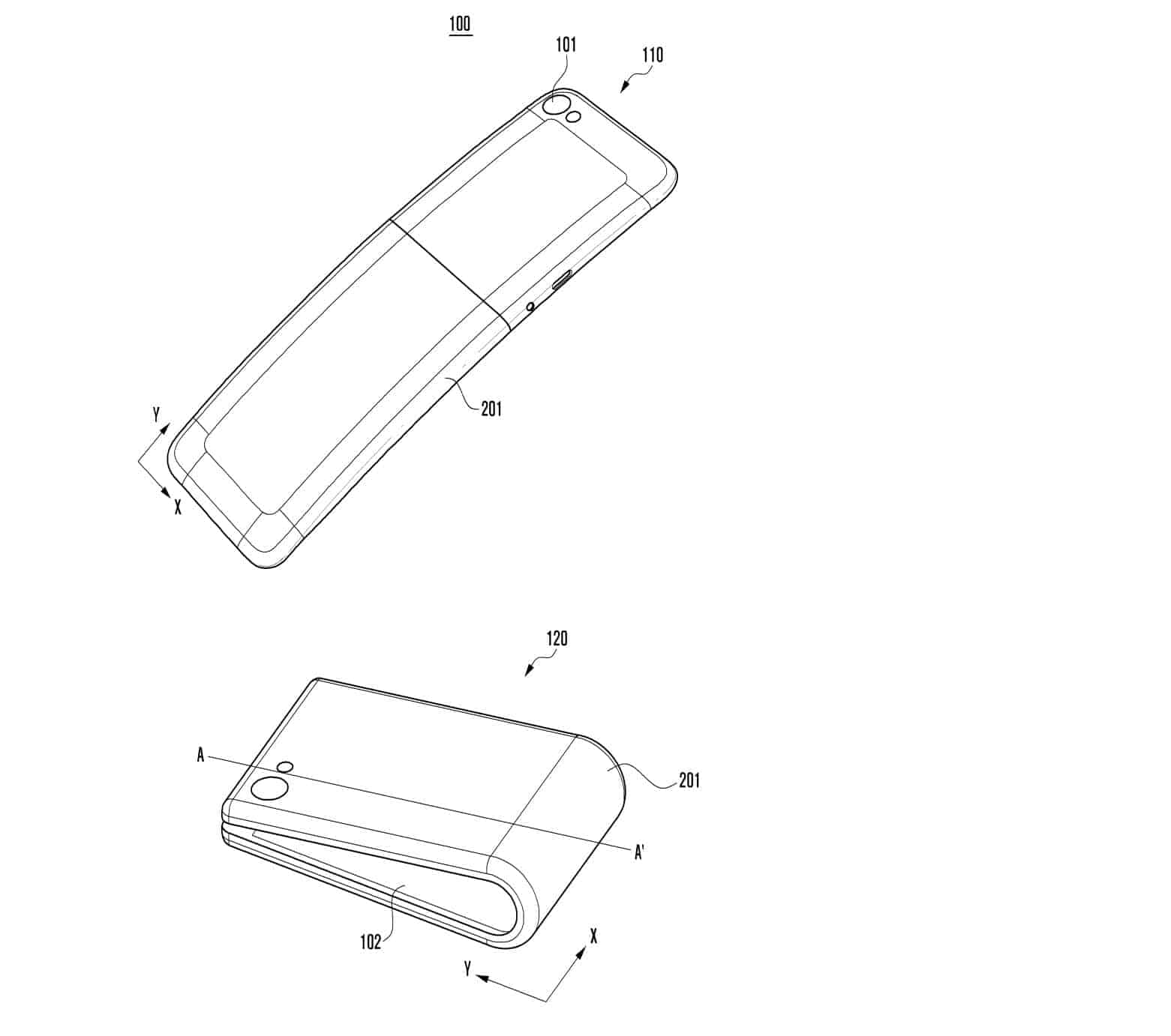 Galaxy X Patent Design 4