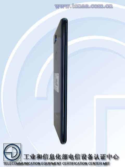 Gionee S11S TENAA 3