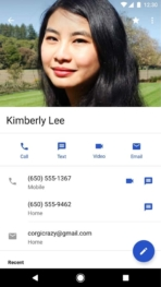 Google Contacts 2.2 Official Screenshot 01