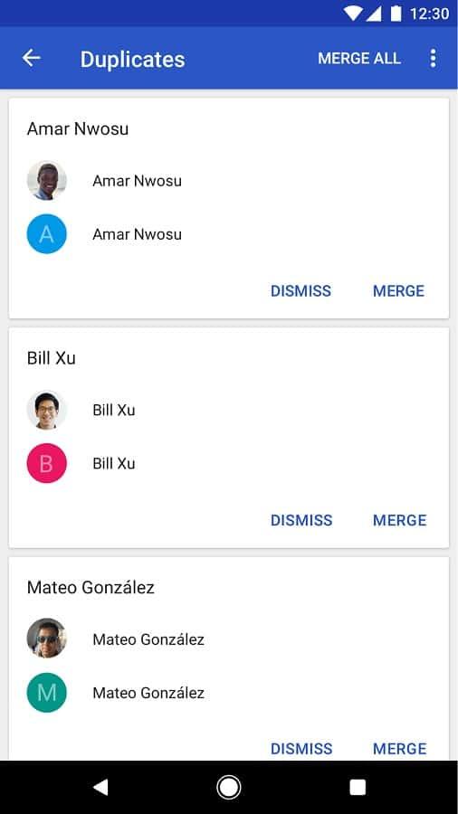Google Contacts 2.2 Official Screenshot 04