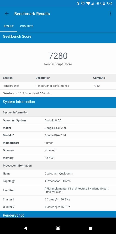 Google Pixel 2 AH NS Screenshots benchmarks 06