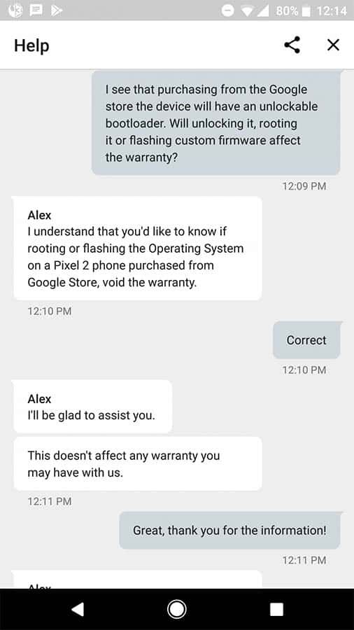 Google Pixel Android Forums Rooting Warranty 1