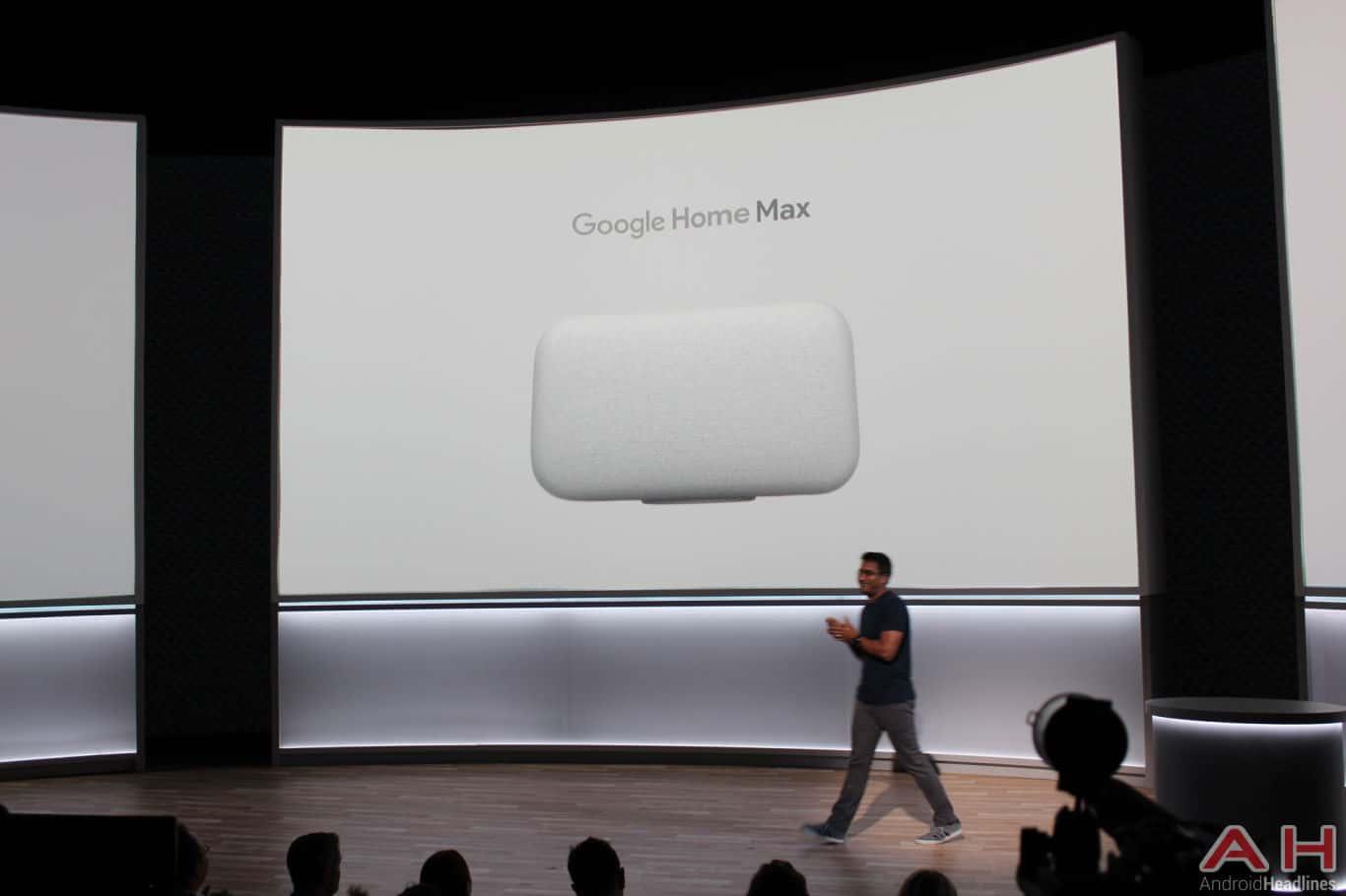 Google Pixel Event 2017 Home Max AH 1