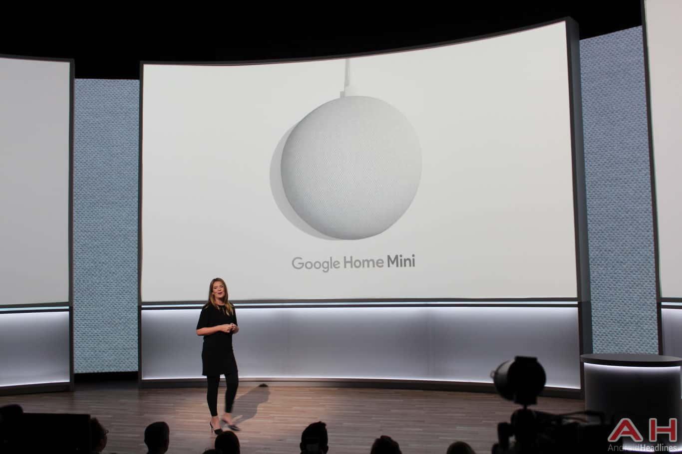 Google Pixel Event 2017 Home Mini AH 1