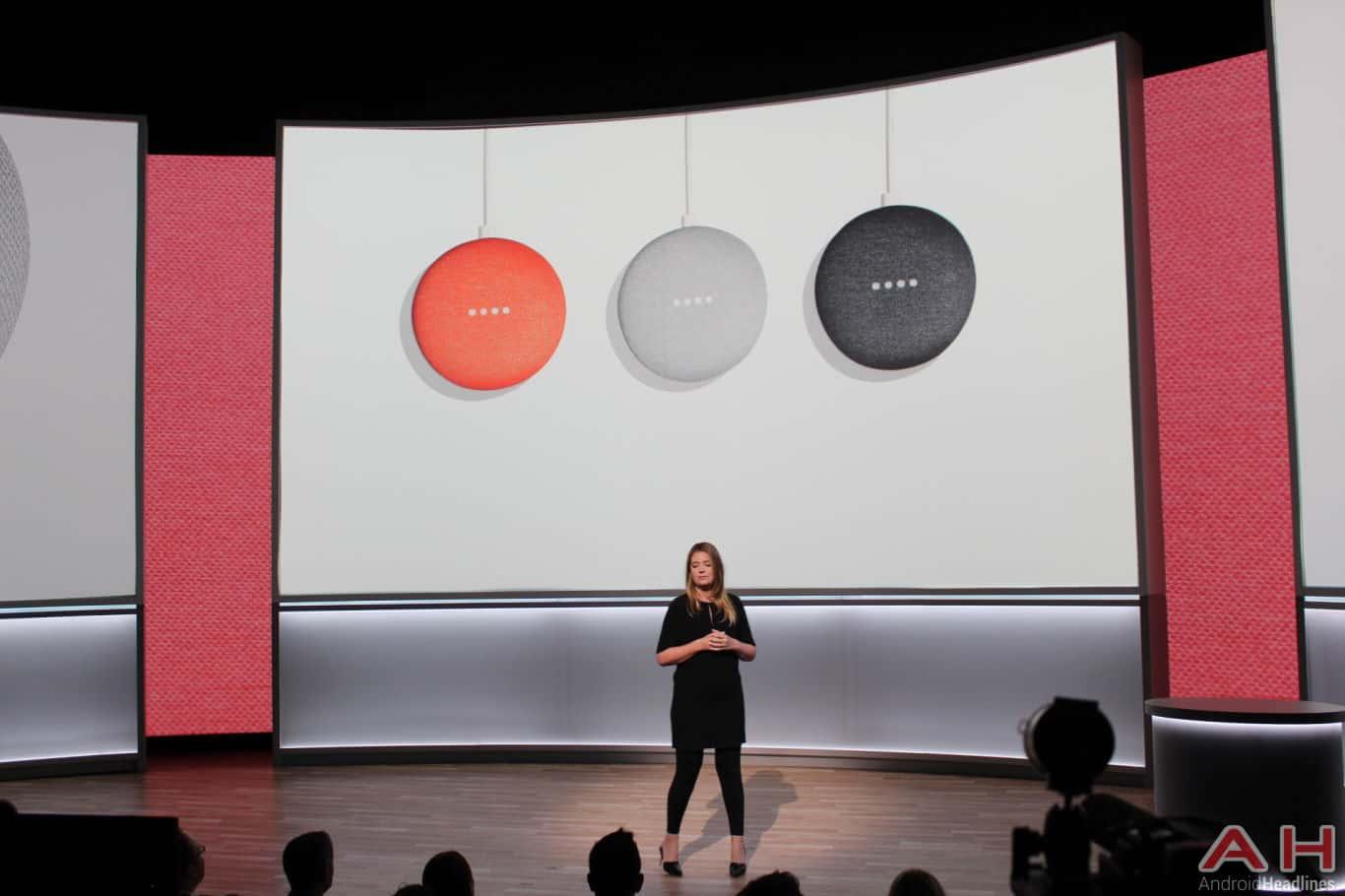 Google Pixel Event 2017 Home Mini AH 7