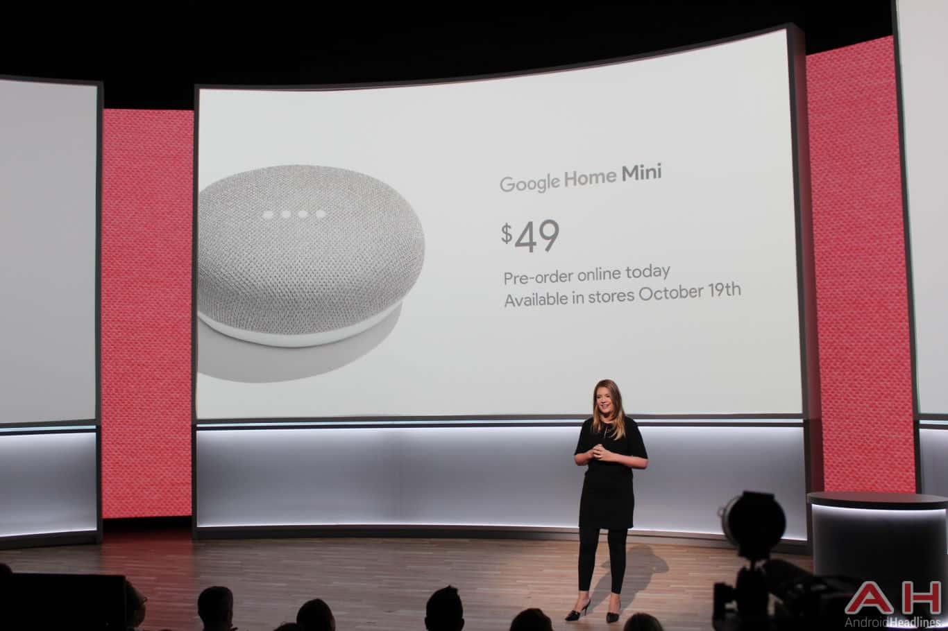 Google Pixel Event 2017 Home Mini AH 8