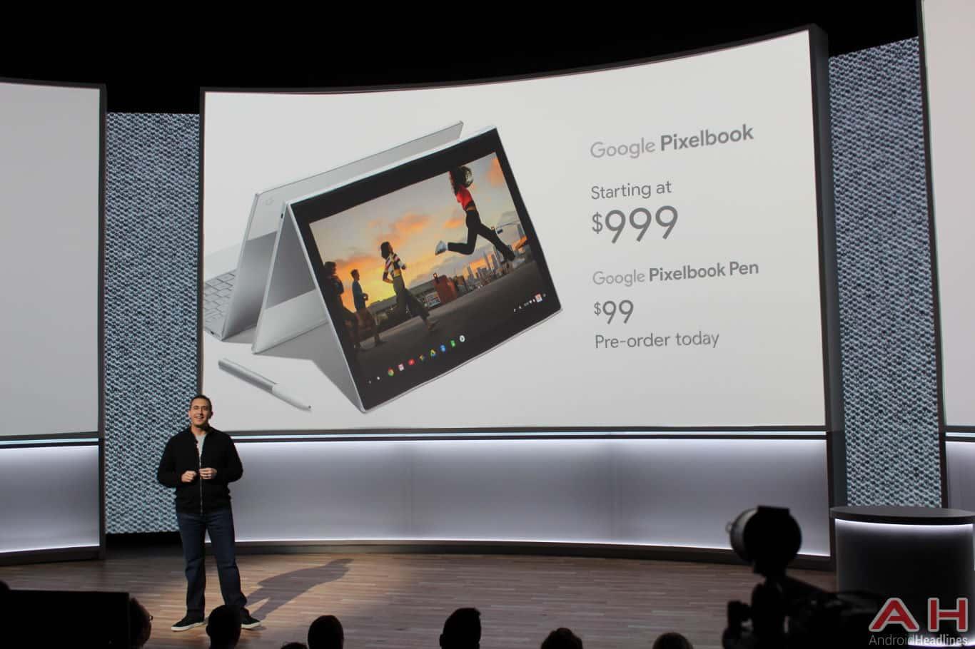 Google Pixel Event 2017 Pixelbook Pricing AH 1