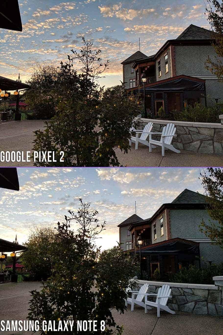 Google pixel 2 review AH NS camara compare 5s