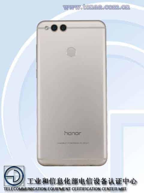 Honor 7X TENAA 2