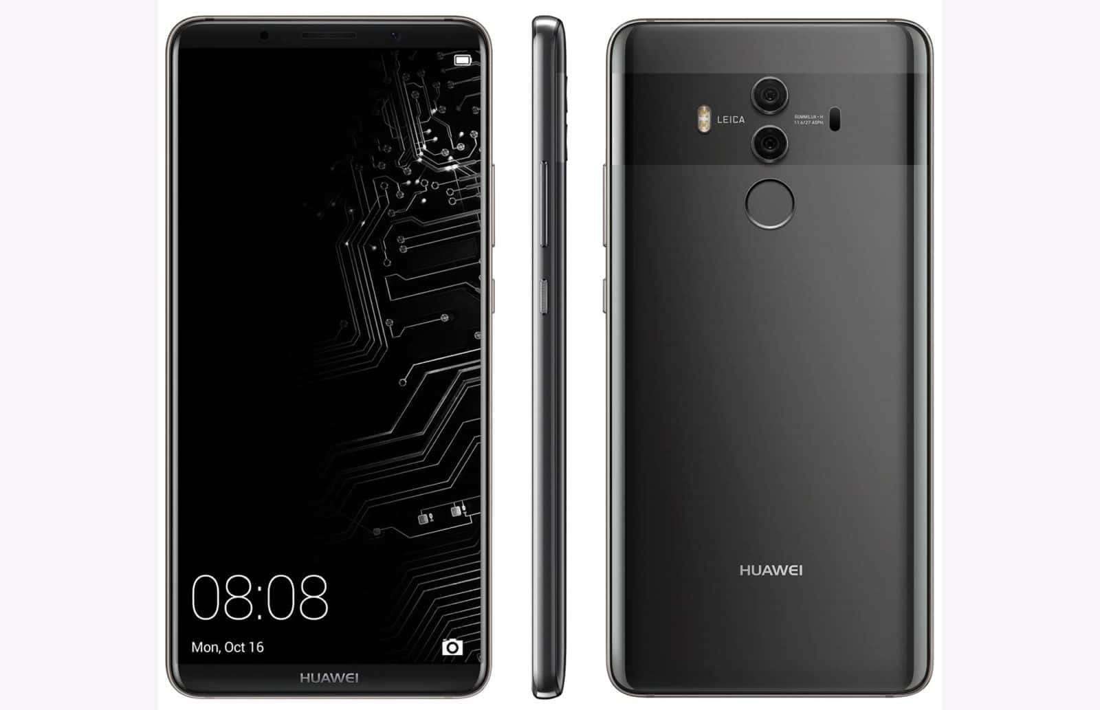 Huawei Mate 10 Pro Android Flagship Leaks In A Hi Res