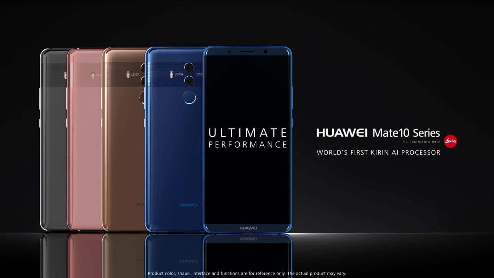 Video Huawei Releases Three Mate 10 Family Ads On Youtube