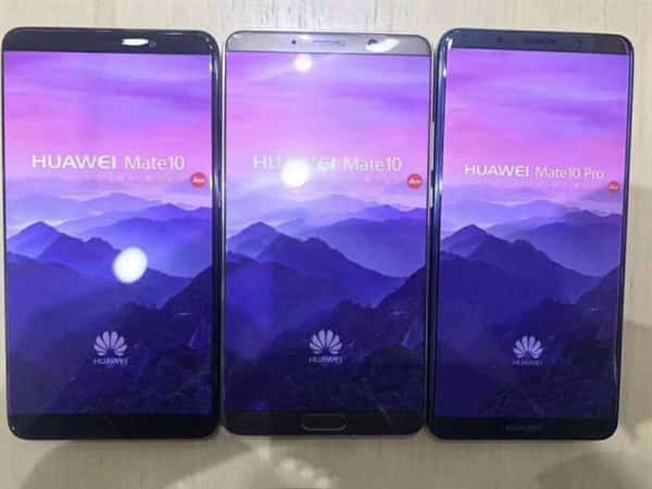 Huawei Mate 10 and Mate 10 Pro dummies leak 11