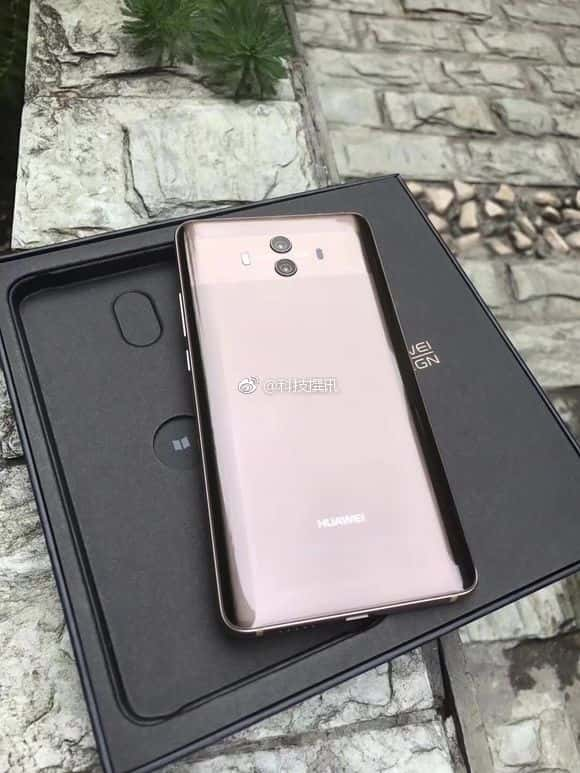 Huawei Mate 10 real life image and packaging leak 4